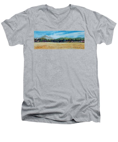 Deschutes River View Men's V-Neck T-Shirt