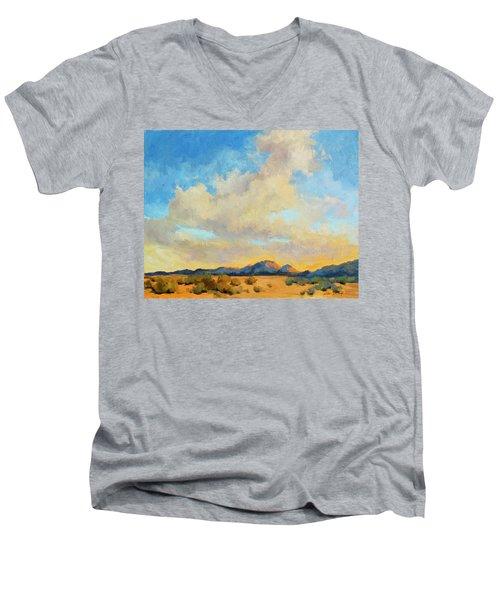 Desert Clouds Men's V-Neck T-Shirt