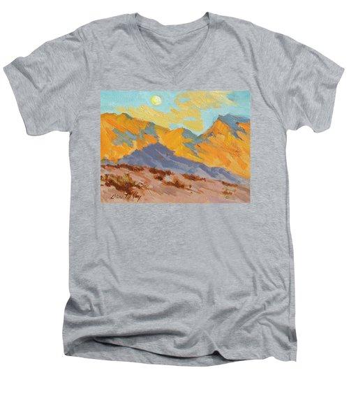 Desert Morning La Quinta Cove Men's V-Neck T-Shirt