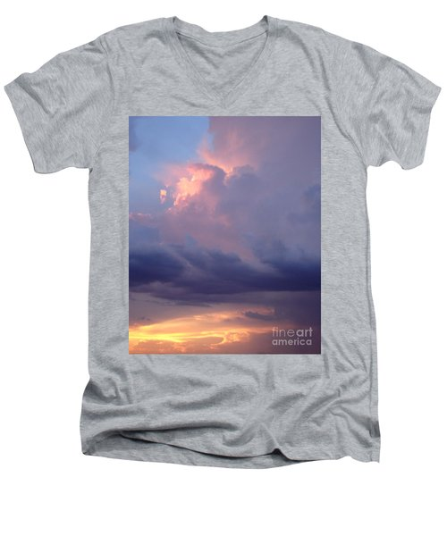 Desert Rainstorm 6 Men's V-Neck T-Shirt