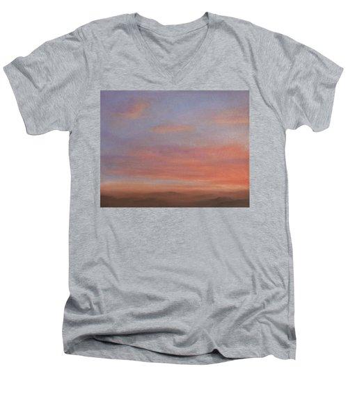 Desert Sky A Men's V-Neck T-Shirt