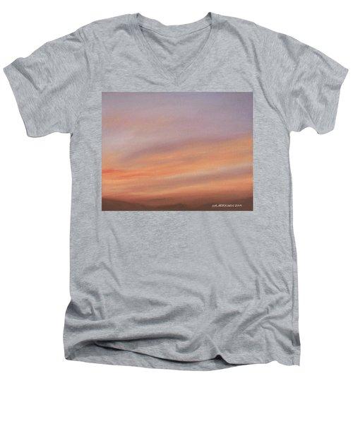 Desert Sky C Men's V-Neck T-Shirt