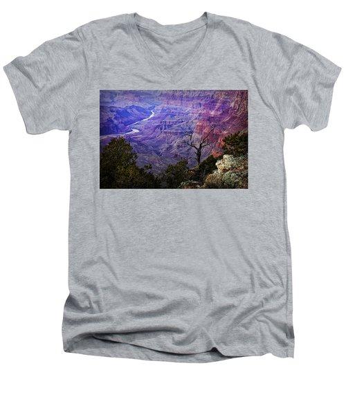 Desert View Sunset Men's V-Neck T-Shirt