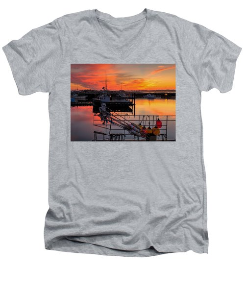 Desired Haven  Men's V-Neck T-Shirt