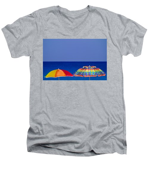 Deuce Umbrellas Men's V-Neck T-Shirt