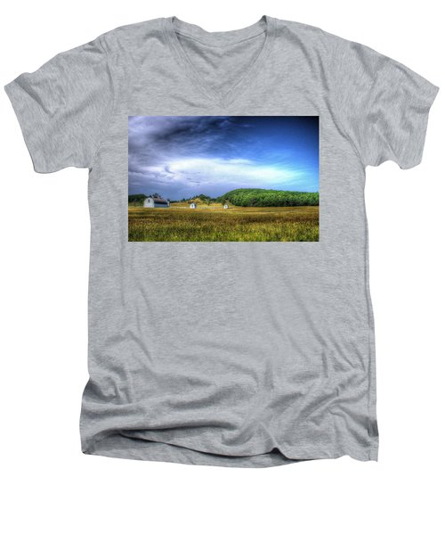 D. H. Day Farm Men's V-Neck T-Shirt