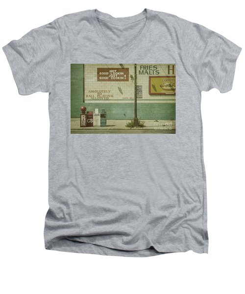 Diner Rules Men's V-Neck T-Shirt