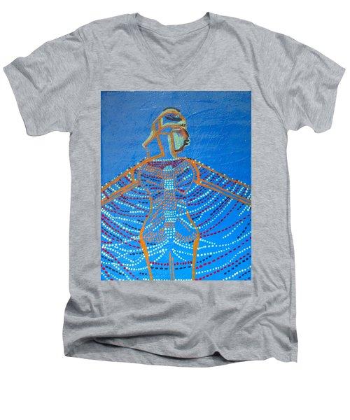 Dinka Corset Men's V-Neck T-Shirt
