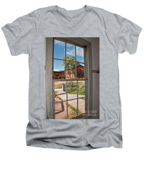Through The Wavy Glass Men's V-Neck T-Shirt