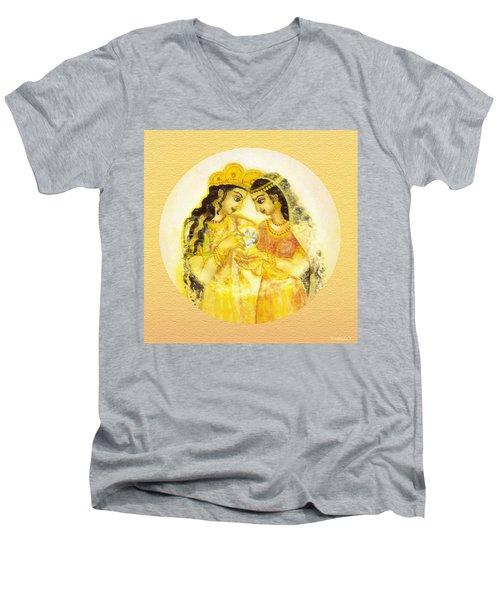 Divine Love - Detail Men's V-Neck T-Shirt