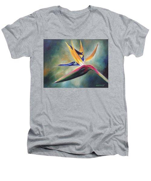 Dj's Flower Men's V-Neck T-Shirt