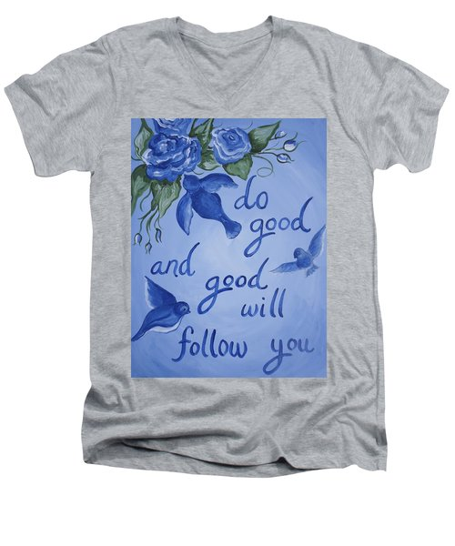 Do Good Men's V-Neck T-Shirt