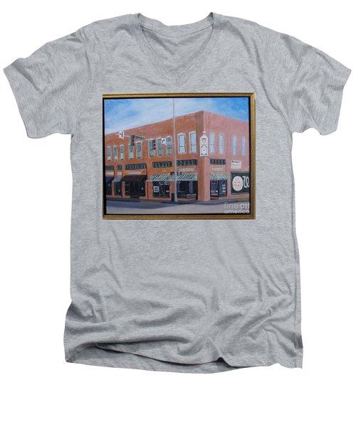 The Chavanne Building Men's V-Neck T-Shirt