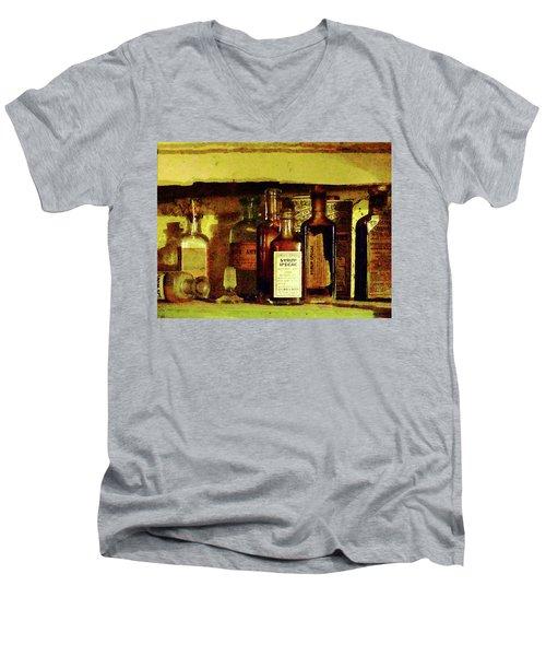 Doctor - Syrup Of Ipecac Men's V-Neck T-Shirt by Susan Savad
