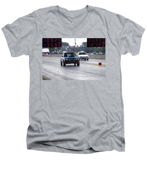 Dodge Omni Glh Vs Rwd Dodge Shadow Men's V-Neck T-Shirt