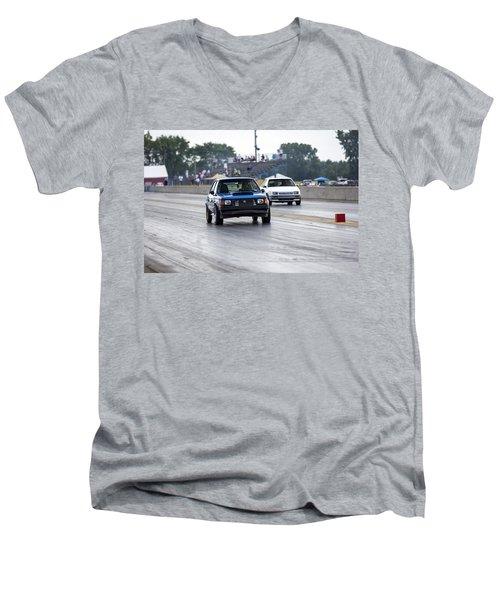 Dodge Omni Glh Vs Rwd Dodge Shadow - Without Times Men's V-Neck T-Shirt