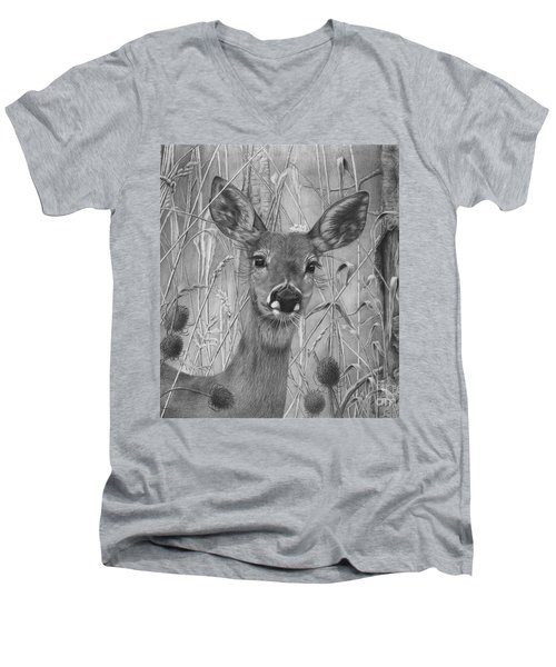 Doe Pretty Men's V-Neck T-Shirt