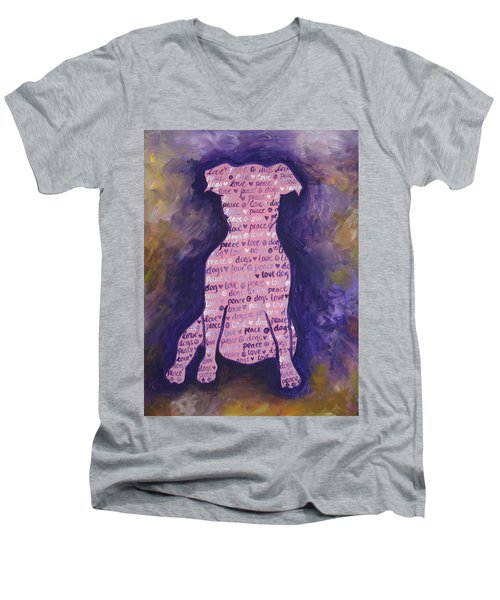 Dog Day Men's V-Neck T-Shirt