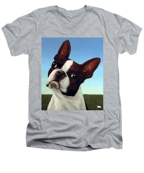 Dog-nature 4 Men's V-Neck T-Shirt