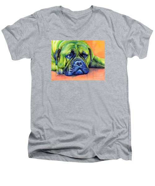 Dog Tired Men's V-Neck T-Shirt