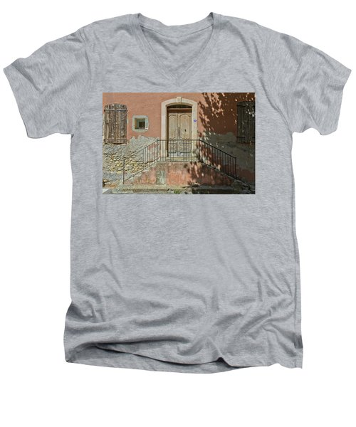 Door And Shadow Men's V-Neck T-Shirt