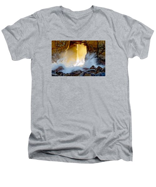 Doorway To The Pacific Ocean Men's V-Neck T-Shirt