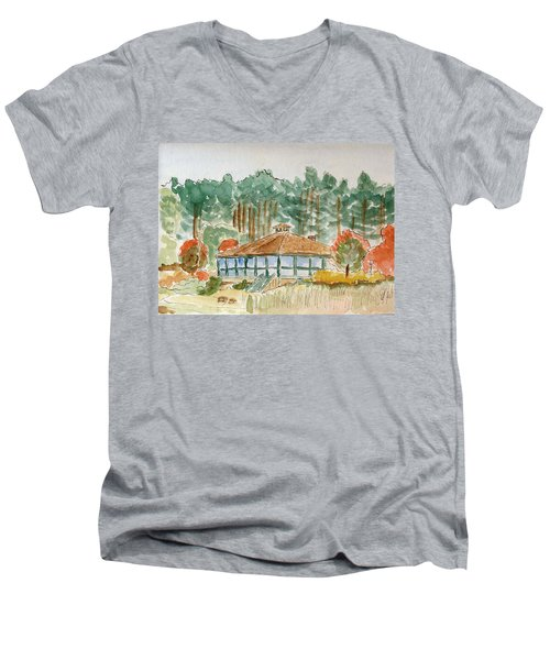 Dorrs Pondhouse Men's V-Neck T-Shirt
