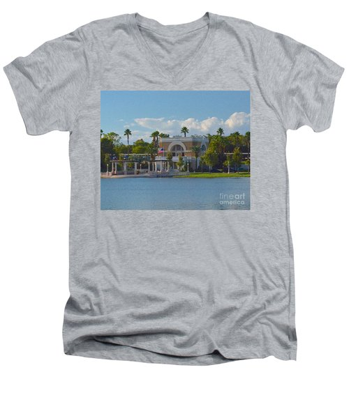 Down By The Station Men's V-Neck T-Shirt