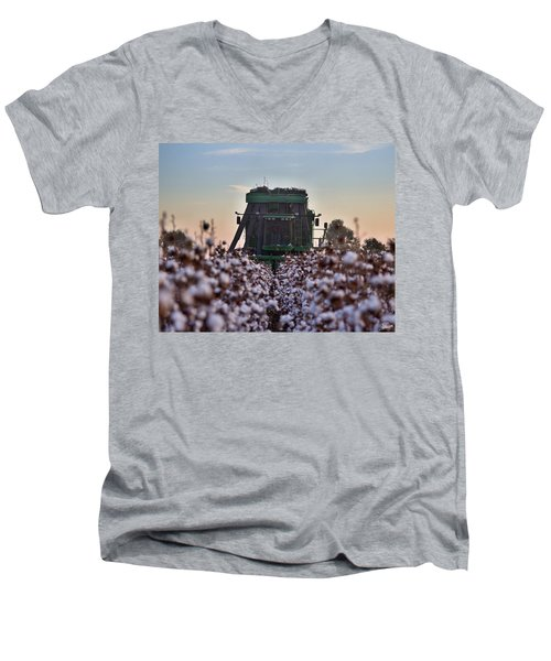 Down The Row Men's V-Neck T-Shirt
