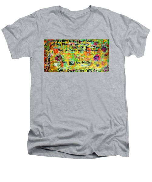 Dr. Suess Men's V-Neck T-Shirt