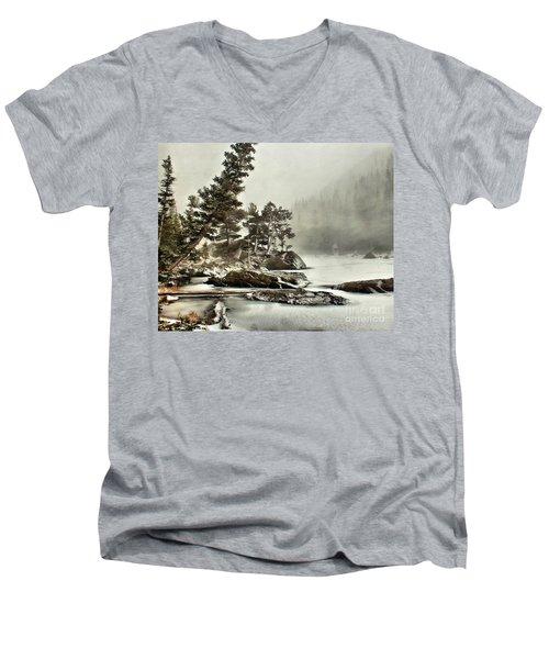 Dream Blizzard Men's V-Neck T-Shirt