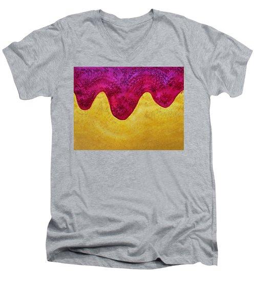Dream Of Dunes Original Painting Men's V-Neck T-Shirt