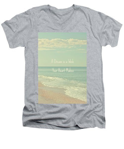 Dreams And Wishes Men's V-Neck T-Shirt