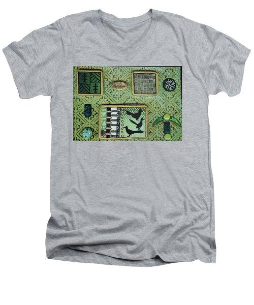 Dreams Collage Men's V-Neck T-Shirt