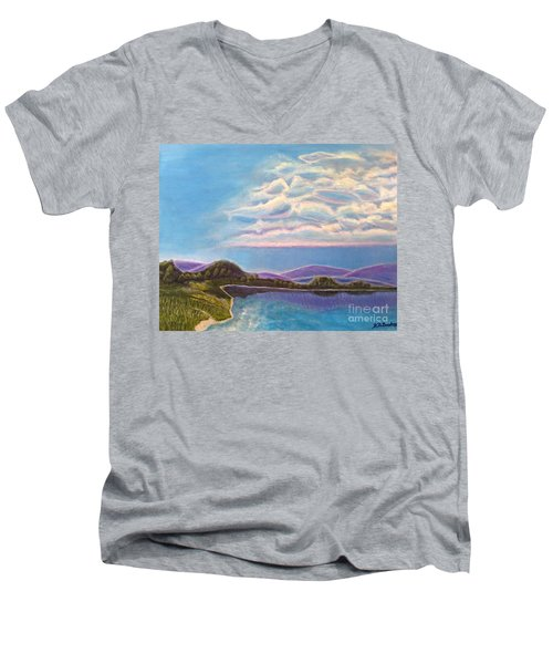 Dreamscapes Men's V-Neck T-Shirt by Kimberlee Baxter