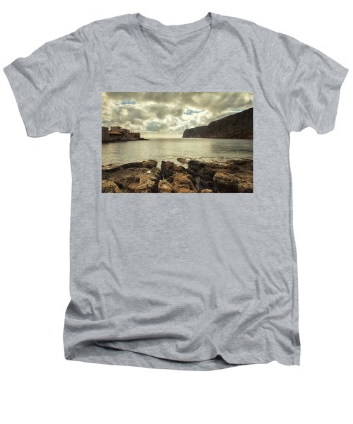 Dreamy Bay  Men's V-Neck T-Shirt