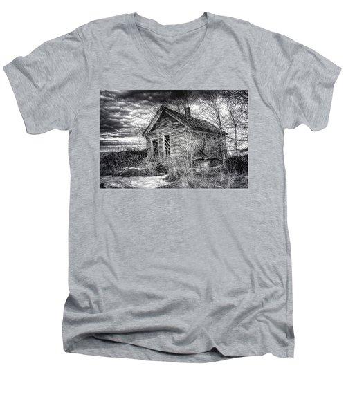 Dreary Dark And Gloomy Men's V-Neck T-Shirt