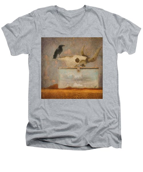 Drought And The Illusion Of Water Men's V-Neck T-Shirt