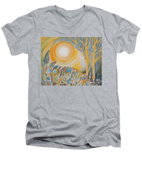Duality Men's V-Neck T-Shirt