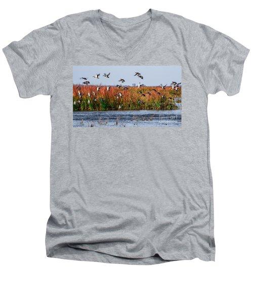 Duck Blind Men's V-Neck T-Shirt