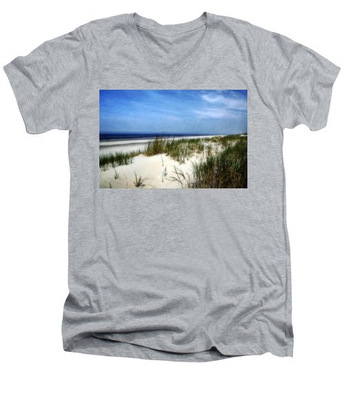 Dunes  Men's V-Neck T-Shirt