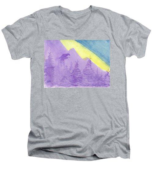 Eagle View Men's V-Neck T-Shirt