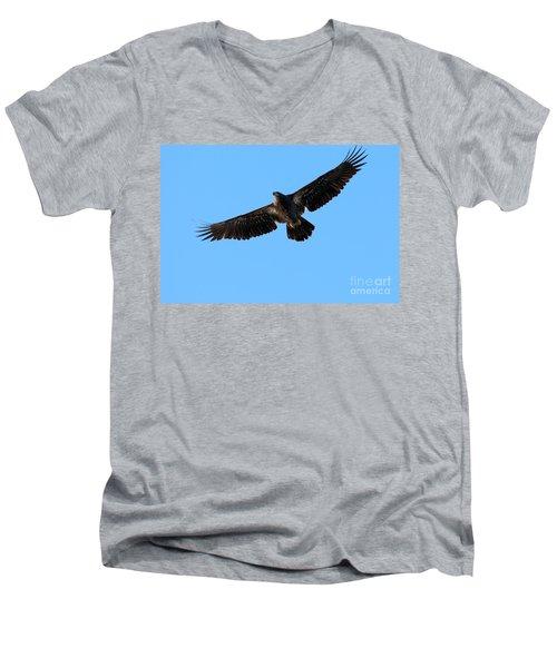 Eagle Wings Men's V-Neck T-Shirt
