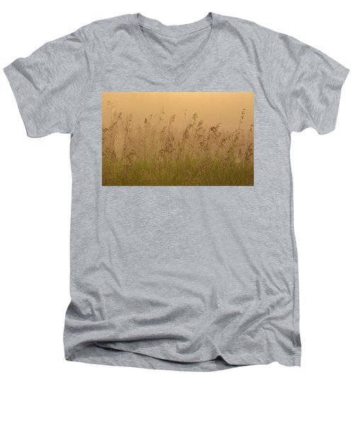 Early Morning Field Men's V-Neck T-Shirt