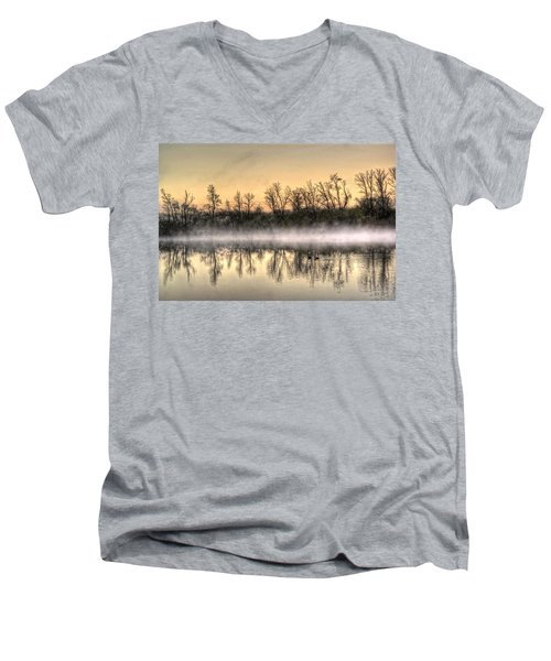 Early Morning Mist Men's V-Neck T-Shirt