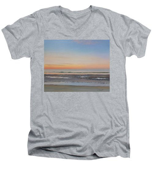 Early Morning Sky Men's V-Neck T-Shirt
