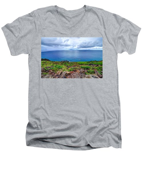 Earth Sea Sky Men's V-Neck T-Shirt