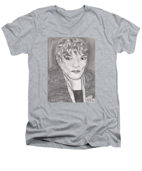 Eartha Kitt Men's V-Neck T-Shirt