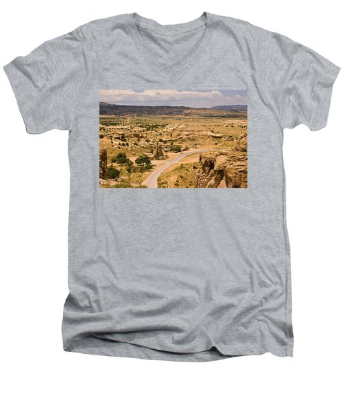 Eastern Mesa View Men's V-Neck T-Shirt