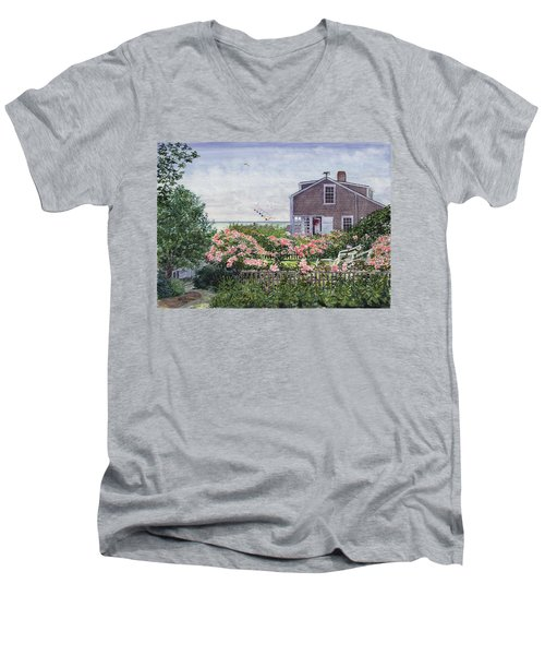 Eastward Look Men's V-Neck T-Shirt